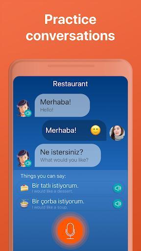 Learn Turkish Free 🇹🇷 - عکس برنامه موبایلی اندروید