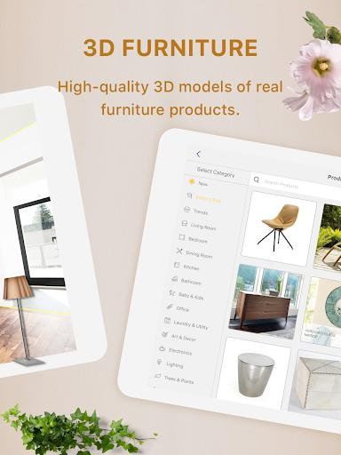 Homestyler - Interior Design & Decorating Ideas - عکس برنامه موبایلی اندروید