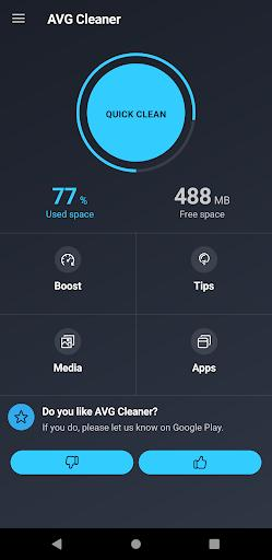 AVG Cleaner – Junk Cleaner, Memory & RAM Booster - عکس برنامه موبایلی اندروید