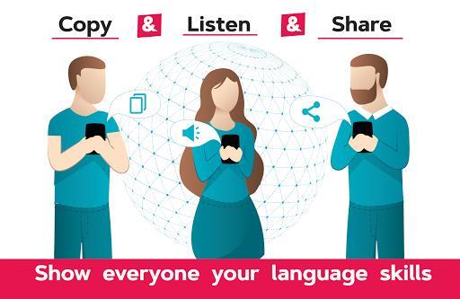 Voice Translator Free - All Languages Translation - عکس برنامه موبایلی اندروید