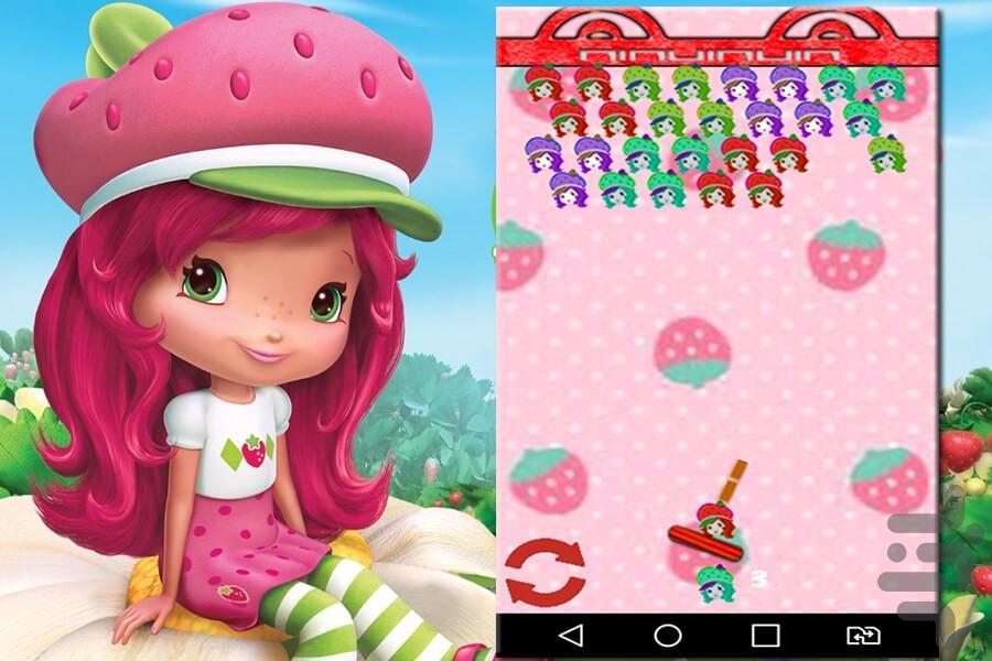 دختر توت فرنگی پرتابی - عکس بازی موبایلی اندروید