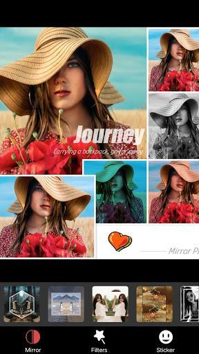 Photo Editor Pro,MirrorApp Collage Maker-MirrorPic - عکس برنامه موبایلی اندروید