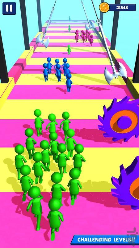 اتحاد آدمک ها - عکس بازی موبایلی اندروید