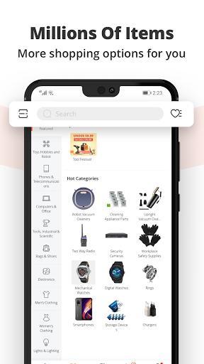 Banggood - Global leading online shop - عکس برنامه موبایلی اندروید
