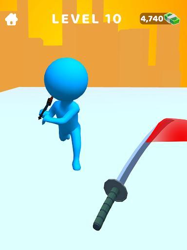 Sword Play! Ninja Slice Runner 3D – شمشیربازی نینجا - عکس بازی موبایلی اندروید