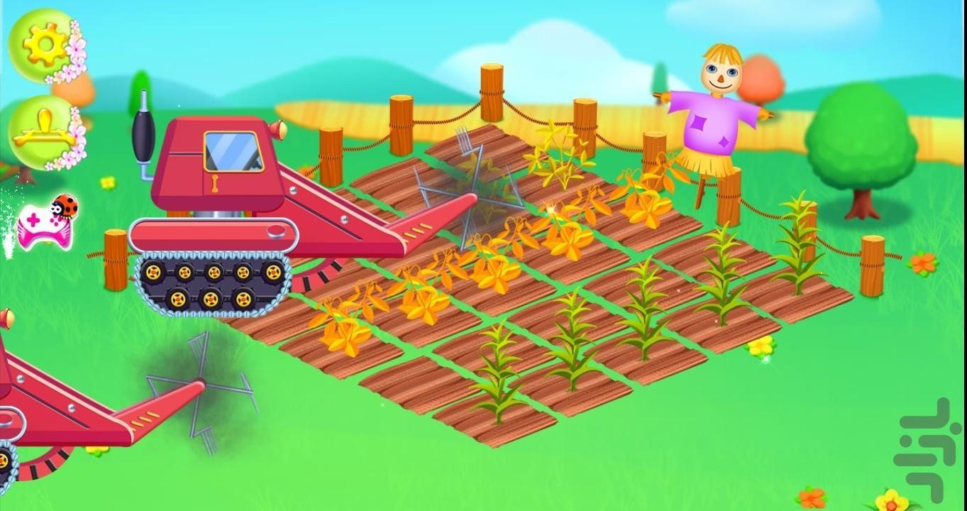 farmer girl - Gameplay image of android game