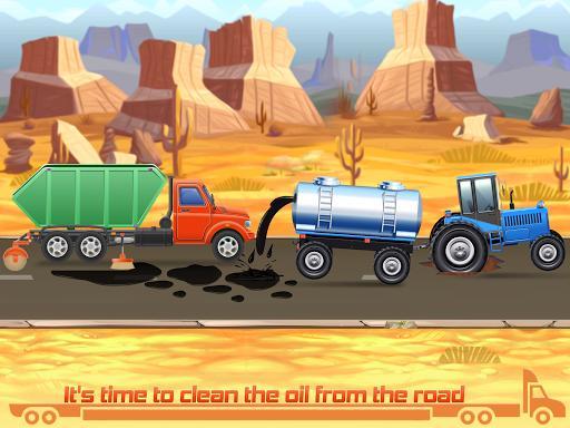 Kids Truck Games: Car Wash & Road Adventure - عکس برنامه موبایلی اندروید