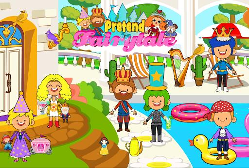 My Pretend Fairytale Land - Kids Royal Family Game - عکس برنامه موبایلی اندروید