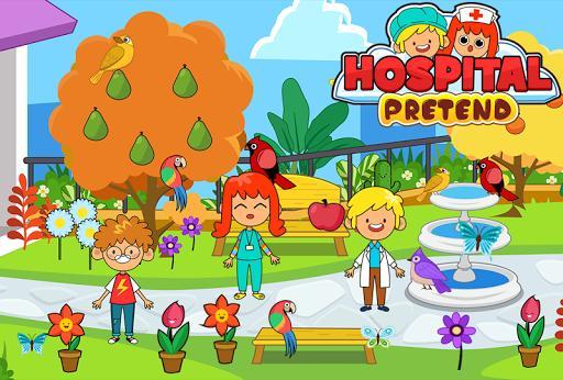 My Pretend Hospital - Kids Hospital Town Life - عکس بازی موبایلی اندروید