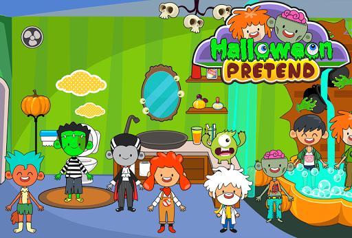 My Pretend Halloween - Trick or Treat Town Friends - عکس بازی موبایلی اندروید
