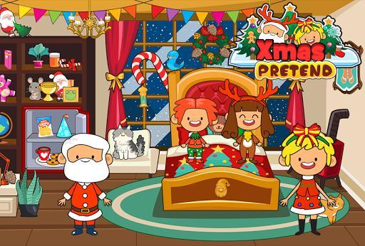 My Pretend Christmas - Santa Friends Holiday Party - عکس بازی موبایلی اندروید
