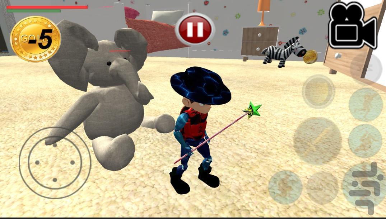 بن تن در جزیره ی جادو - عکس بازی موبایلی اندروید