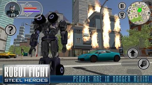 جنگ ربات ها - عکس بازی موبایلی اندروید