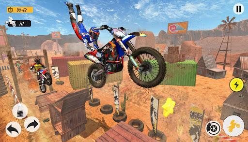 Moto Bike Racing Stunts Game - عکس بازی موبایلی اندروید