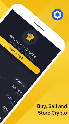 Binance – کیف پول ارز دیجیتال و معاملات بیت کوین بایننس - عکس برنامه موبایلی اندروید