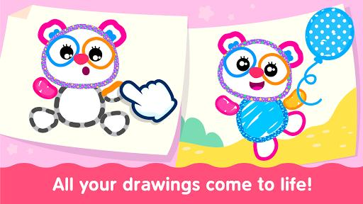 Bini Toddler Drawing Apps! Coloring Games for Kids - عکس بازی موبایلی اندروید
