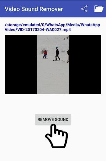 Video Sound Remover - عکس برنامه موبایلی اندروید