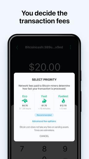 Bitcoin Wallet – خرید بیت کوین - عکس برنامه موبایلی اندروید
