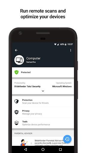 Bitdefender Central - عکس برنامه موبایلی اندروید