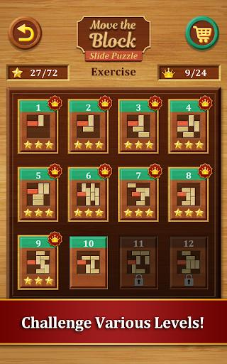 Move the Block : Slide Puzzle - عکس بازی موبایلی اندروید