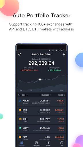 BitUniverse - Crypto Portfolio & Grid Trading Bot - عکس برنامه موبایلی اندروید