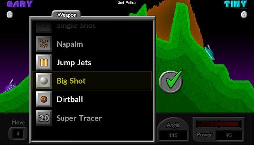 Pocket Tanks - عکس بازی موبایلی اندروید