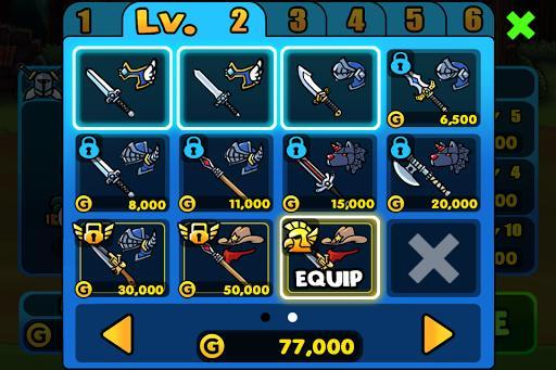 ChickenWarrior - عکس بازی موبایلی اندروید