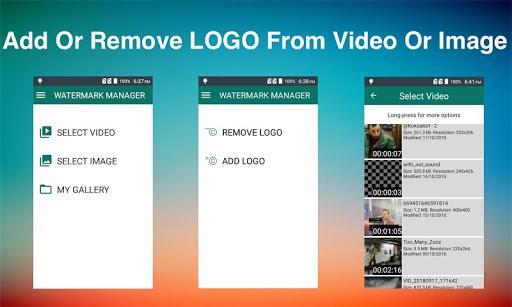 Remove & Add Watermark - عکس برنامه موبایلی اندروید