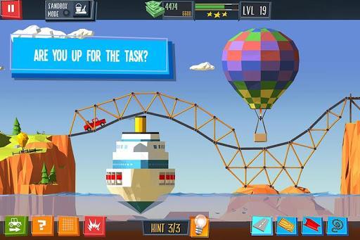 پل بساز! - عکس بازی موبایلی اندروید