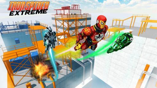 Iron Spider Extreme - عکس بازی موبایلی اندروید
