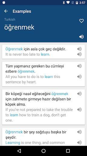 Turkish English Dictionary & Translator Free - عکس برنامه موبایلی اندروید
