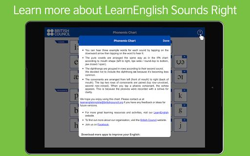 LearnEnglish Sounds Right - عکس برنامه موبایلی اندروید
