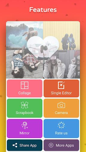Collage Photo Editor - Collage Maker with Effects - عکس برنامه موبایلی اندروید