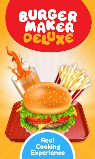 Burger Deluxe - Cooking Games - عکس بازی موبایلی اندروید