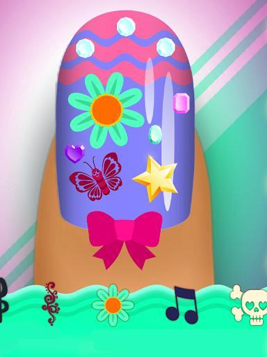 Crayola Nail Party: Nail Salon - عکس بازی موبایلی اندروید