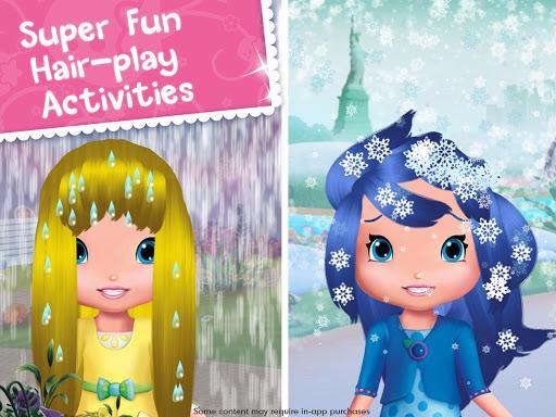 Strawberry Shortcake Holiday Hair - عکس بازی موبایلی اندروید