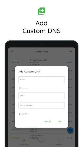 DNS Changer | Mobile Data & WiFi | IPv4 & IPv6 - عکس برنامه موبایلی اندروید