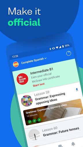 Busuu – یادگیری زبان - عکس برنامه موبایلی اندروید