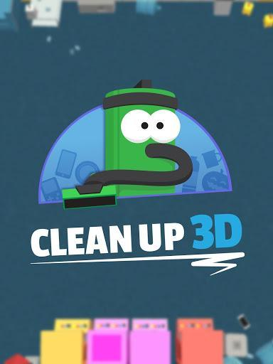 Clean Up 3D - عکس بازی موبایلی اندروید