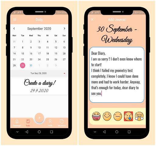 21 Days Habit Challenges - عکس برنامه موبایلی اندروید