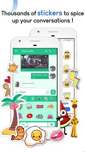 Mood Messenger - SMS & MMS - عکس برنامه موبایلی اندروید