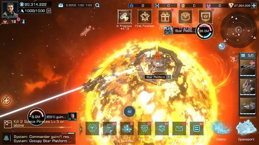 Infinite Galaxy - عکس بازی موبایلی اندروید