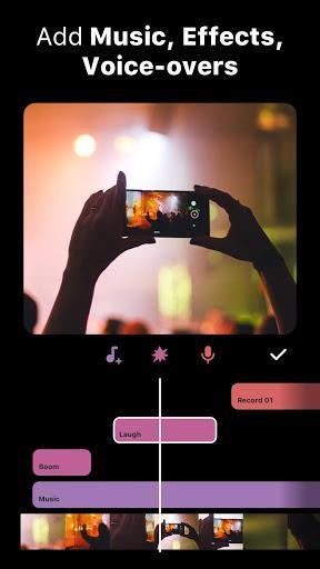 InShot – ساخت و ویرایش ویدیو - عکس برنامه موبایلی اندروید