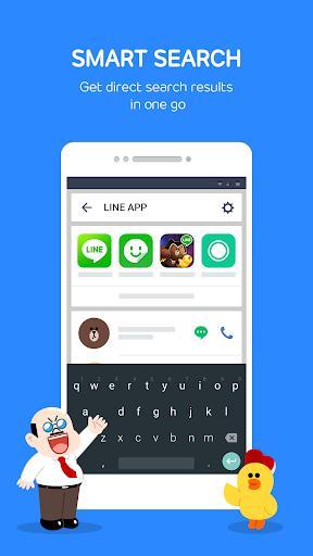 LINE Launcher - عکس برنامه موبایلی اندروید