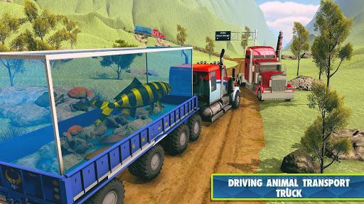 Sea Animals Transport Truck Simulator 2019 - عکس بازی موبایلی اندروید