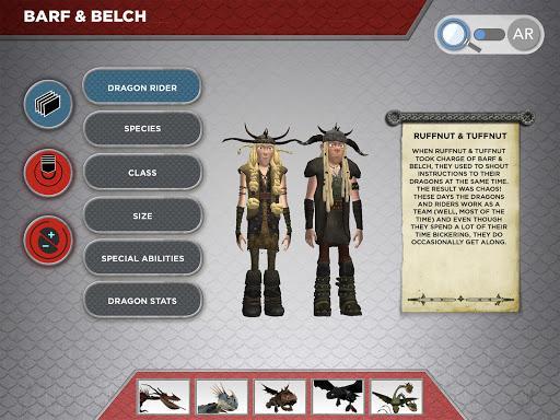 DreamWorks Dragons AR - عکس برنامه موبایلی اندروید