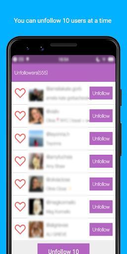Unfollow Pro   -   Manage Followings & Followers - عکس برنامه موبایلی اندروید