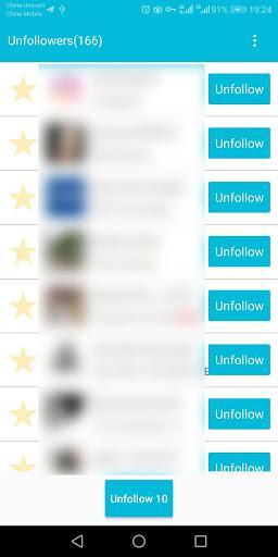 Unfollow Users Plus - عکس برنامه موبایلی اندروید