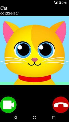 fake call video cat 2 game - عکس بازی موبایلی اندروید