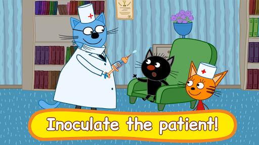 Kid-E-Cats: Hospital for animals. Injections - عکس بازی موبایلی اندروید